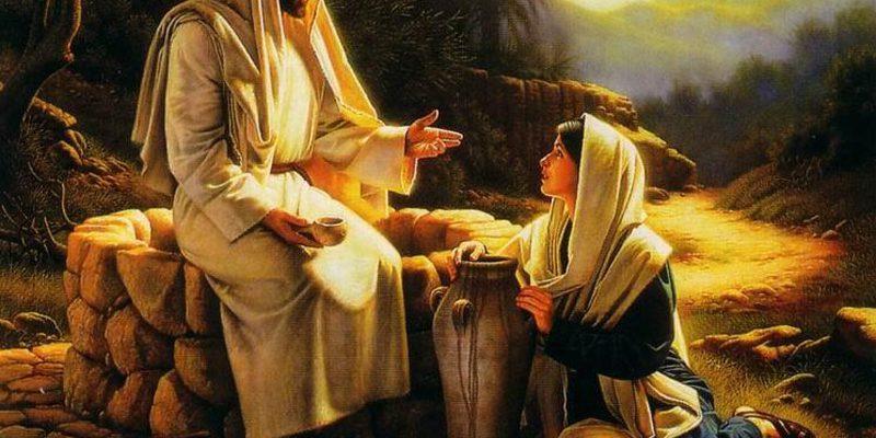 jesus z Samarytanką